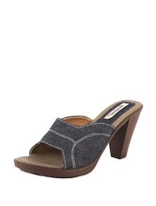 Blue Block Heels - Bonjour