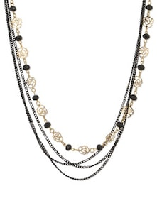 Black & Gold Secrets Of Sorceress Necklace - YOUSHINE