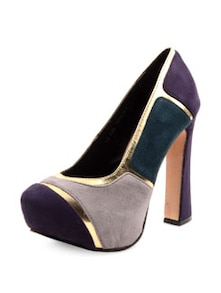 High Heel Multi-coloured Court Shoes - Carlton London