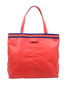 Handbag With Contrast Panelling - Carlton London 50272
