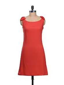 Red Bow Dress - @ 499