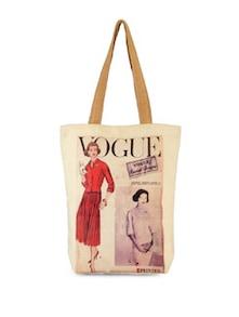 Vogue Canvas Bag - The House Of Tara