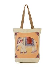 Royal Elephant Canvas Bag - The House Of Tara