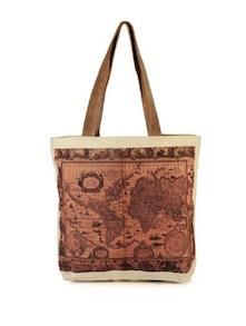 Globe America Canvas Bag - The House Of Tara
