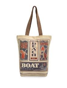 Beach Bar Canvas Bag - The House Of Tara