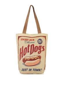 Hot Dogs Handbag - The House Of Tara