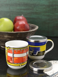 Set Of 2 Tuk Tuk Coffee Mug - Arttd'inox