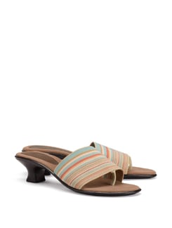 Striped Casual Sandals - CATWALK