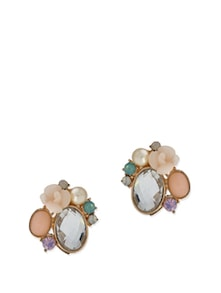 Stone Studded Earrings - Karrat 22
