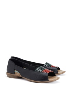 Night Spice Black Sandals - CATWALK