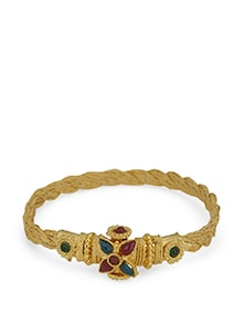Classic Yellow-Gold Bangle - Luxor