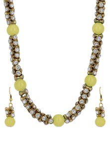 Gold & Yellow Necklace Set - Luxor