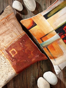 Abstract Cushion Cover Set Of 2 - Belkado