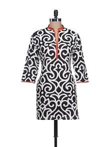 Unique Print Cotton Kurti - KILOL