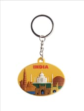 Heritage India Keychain - The Bombay Store