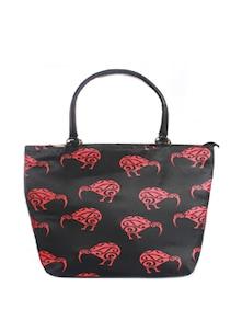 Red Kiwi Tote Bag - Mesmerizink