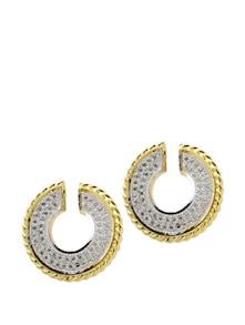 Circular Shaped Studded Earrings - Aradhyaa Jewel Arts