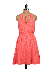 Trendy Orange Dress - Tops And Tunics