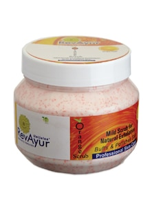 Orange Face Scrub - RevAyur
