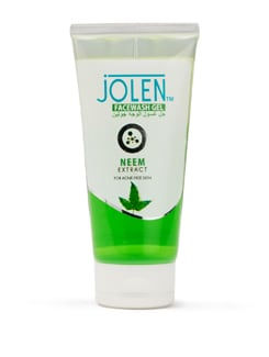 Neem Face Wash Gel for Acne Prone Skin 150ml (Buy one get One Free) - Jolen