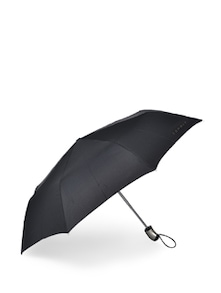 Stylish Black & Silver Umbrella - Esprit