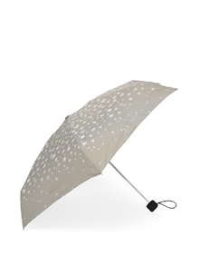 Grey & White Star Print Umbrella - Esprit
