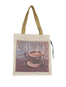 Coffee Break Jute Bag - The House Of Tara