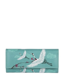 Legend Of The Cranes Ladies Wallet - India Circus