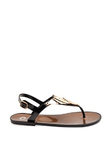 Brown Flat Sandals - Carlton London