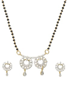 Loop Mangalsutra Pendant Design - Vendee Fashion