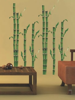 Serene Bamboo Wall Sticker - Freelance