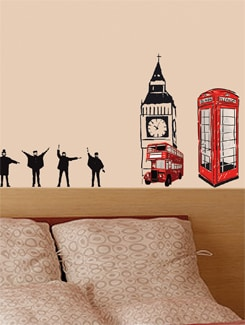 Anglo Mania Wall Sticker - Freelance