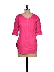 Pink Passion Short Kurta - W