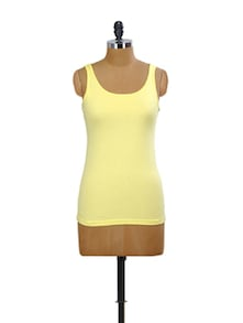 Rose Yellow Tank Top - Miss Chase