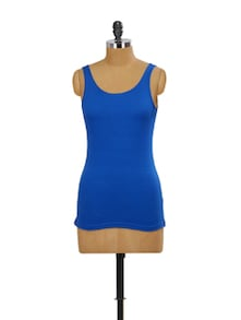 Royal Blue Tank Top - Miss Chase