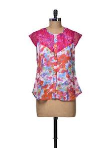 Lace Yoke Shirt - Ayaany