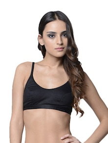Trendy Black Sports Bra - Lady Lyka