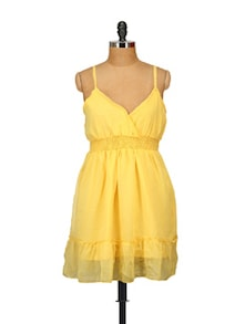 Yellow Queen Dress - ETHNIC