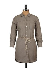 Stylish Long Ladies Shirt - ETHNIC