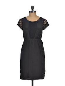 Black Beauty Lace Dress - I AM FOR YOU