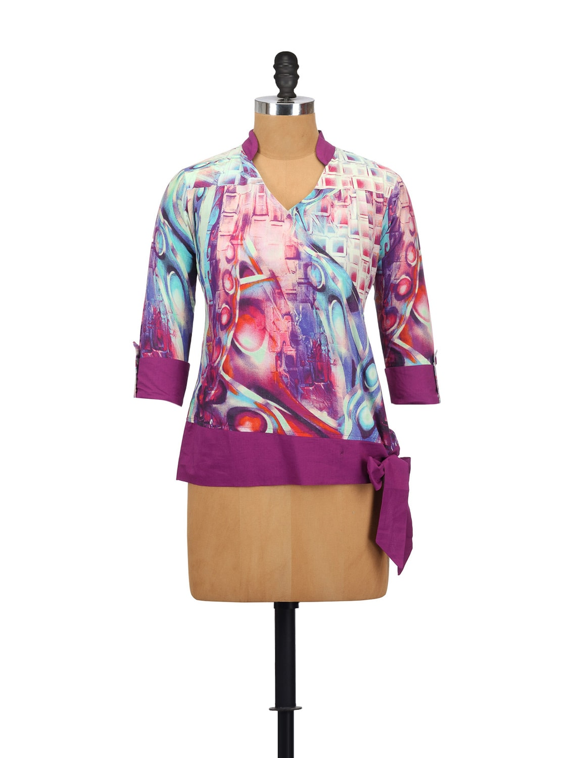 Plum Passion Cotton Top - Glam And Luxe