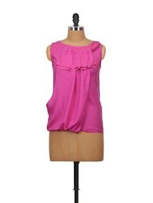 Pink Passion Rayon Top - Glam And Luxe