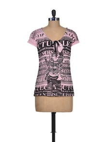 Pretty Pink Punk Top - Shimaya