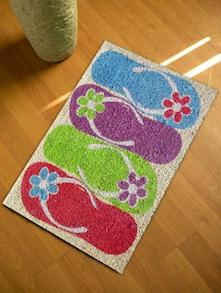 Flip Flop Floor Mat - Mats Matter
