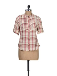 Peaches And Cream Shirt - Silk Weavers