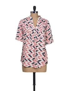 Print Play Multicolour Shirt - Silk Weavers