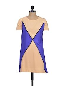 Colourblock Chic Top - Silk Weavers