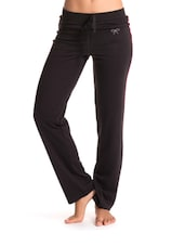 Black Boot Cut Work-Out Pants - PrettySecrets