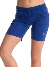 Blue Work-Out Shorts - PrettySecrets