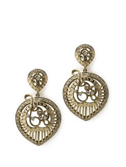 Antique Silver Earrings - Aahana Creations